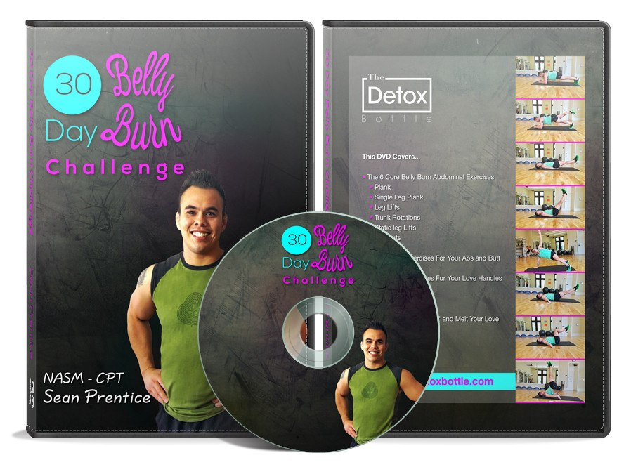 30 Day Belly Burn Challenge DVD