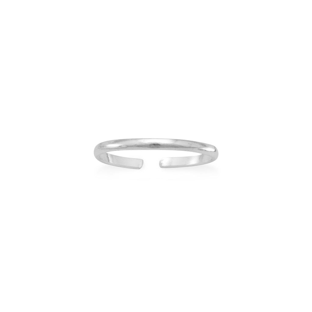 Thin Band Toe Ring