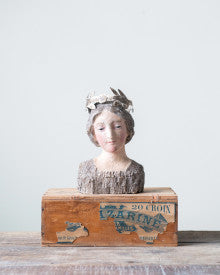 Vintage Bust Reproduction with Removable Crown