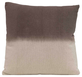 Square Two-Tone Cotton Mudcloth Pillow