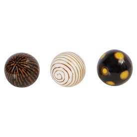 Decorative Orb Figurine (Set of 3 Styles)