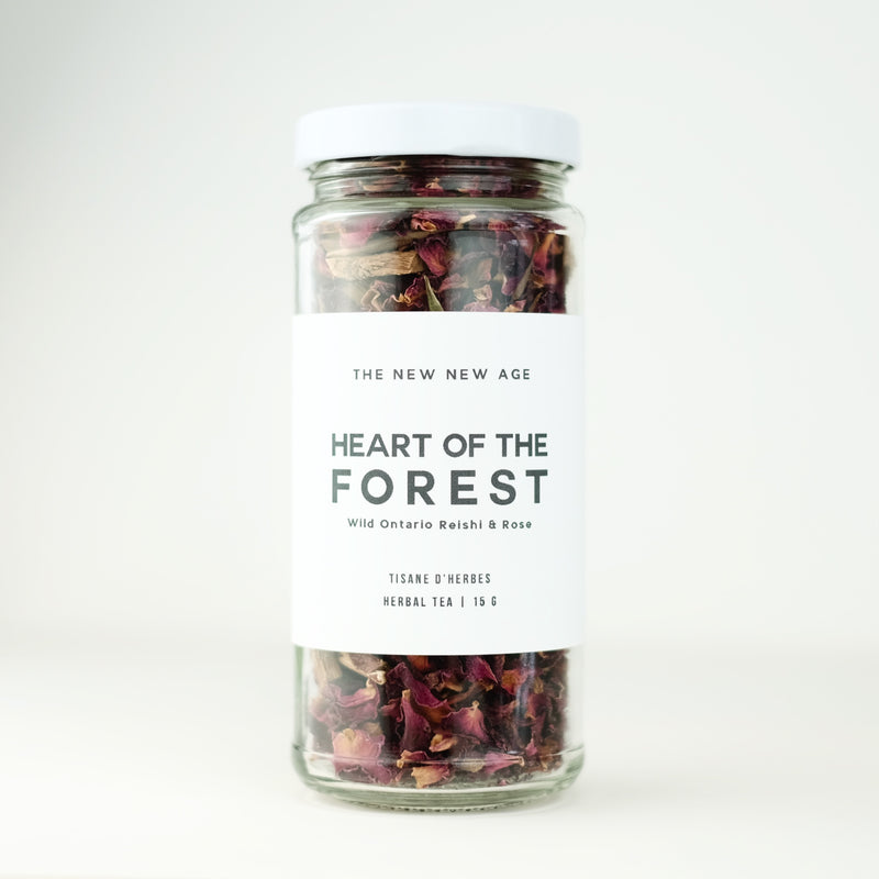 HEART OF THE FOREST // Reishi + Rose tonic