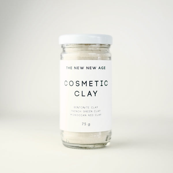 A jar of Cosmetic Clay face mask.