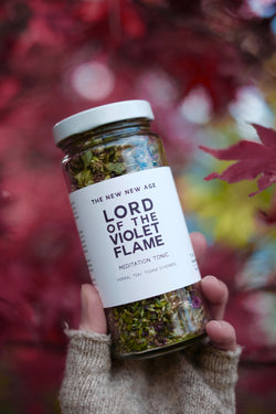 LORD OF THE VIOLET FLAME // bee balm + anise hyssop