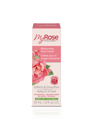MyROSE Moisturizing Face Cream - LAVENA