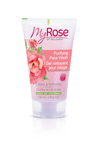 MyROSE Purifying Face Wash - LAVENA