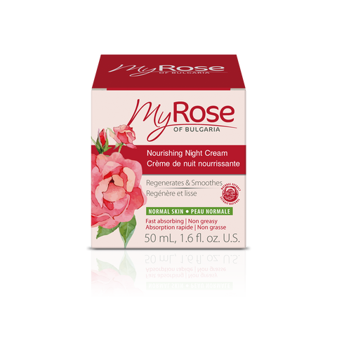 MyROSE Nourishing Night Cream - LAVENA