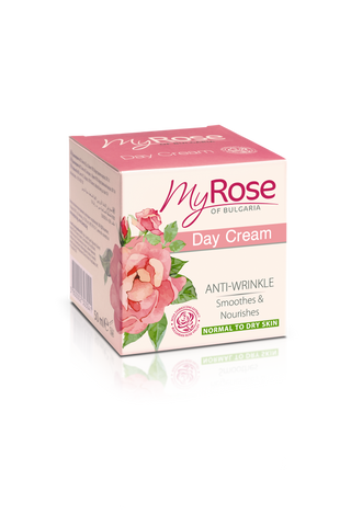 MyROSE Anti-Wrinkle Day Cream - LAVENA