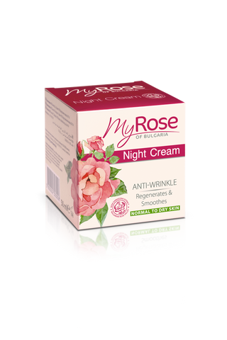MyROSE Anti-Wrinkle Night Cream - LAVENA