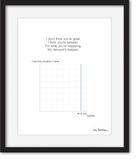 Custom An Economist Says I Love You print