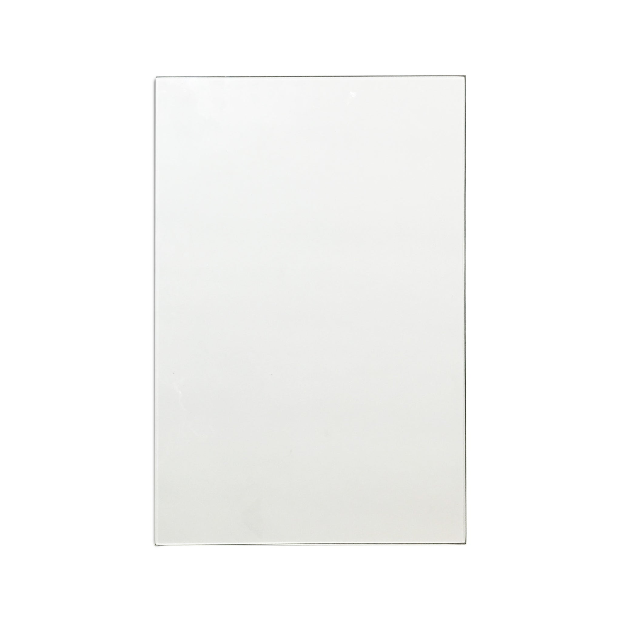 "11""x17"" 1/4"" Thick Glass Pane"