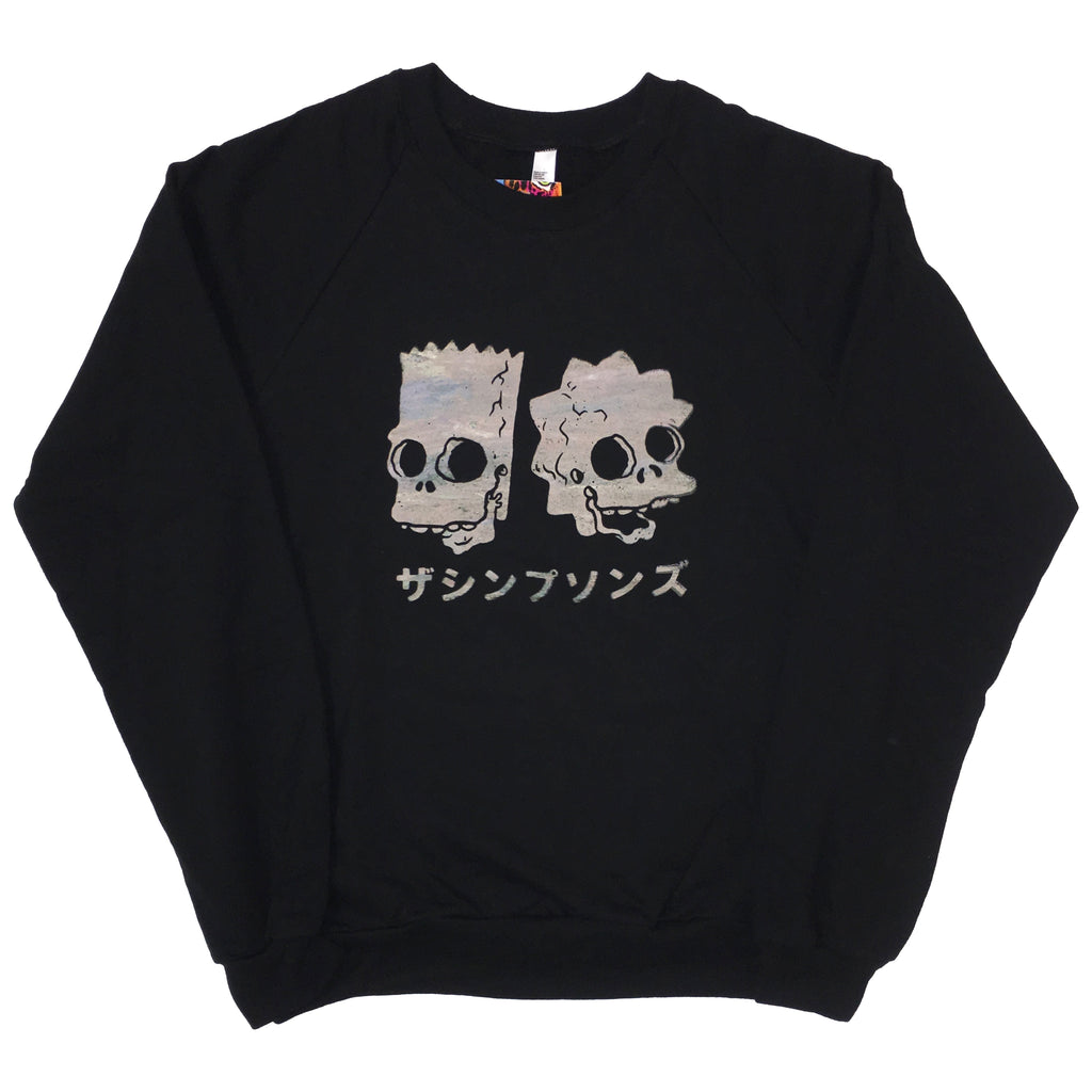 Simpsons Glow Sweater by BLIM (Black)
