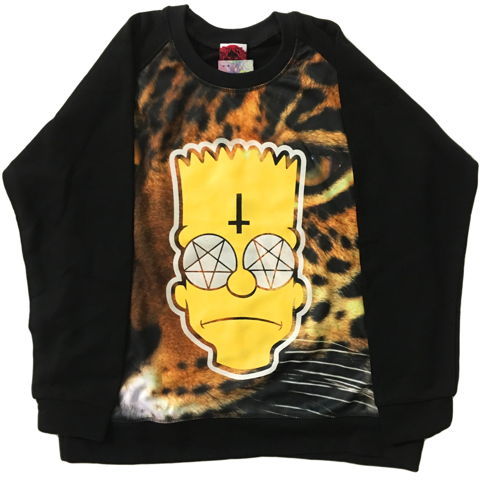 Cheetah Bart Sweater