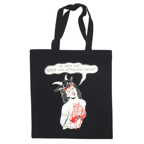"""Astrology"" Tote by PUPPYTEETH"