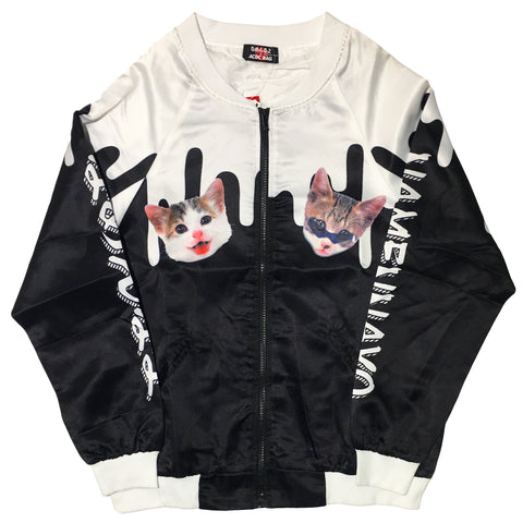 Back In Stock! Bosozoku Kitty Bomber by ACDC Rag
