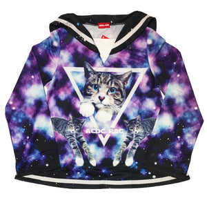 """Galaxy Cat"" Sailor Top by ACDC RAG"
