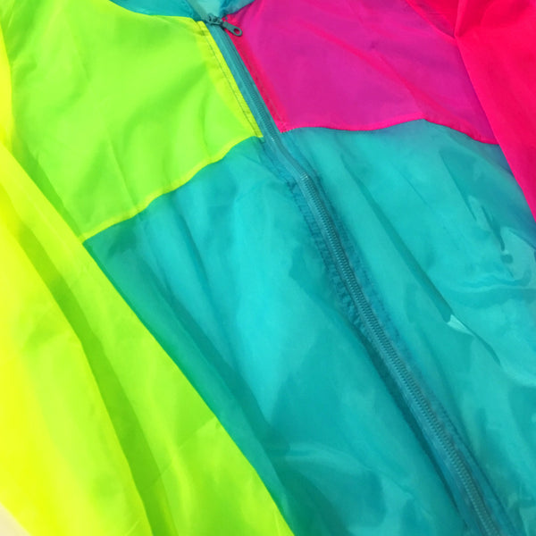 Fluorescent Sun and Rain Windbreaker