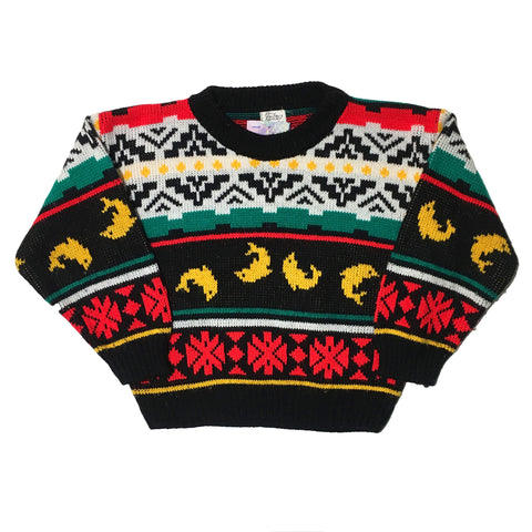 Fantasy Dolphin Kids Sweater
