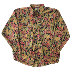 Maximillian All Over Print Button Up Shirt
