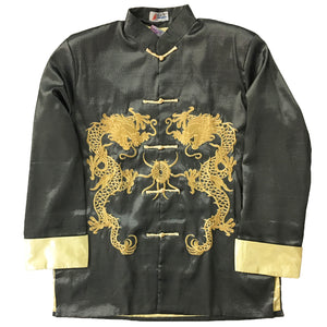Gold Embroidered Tai Chi Jacket