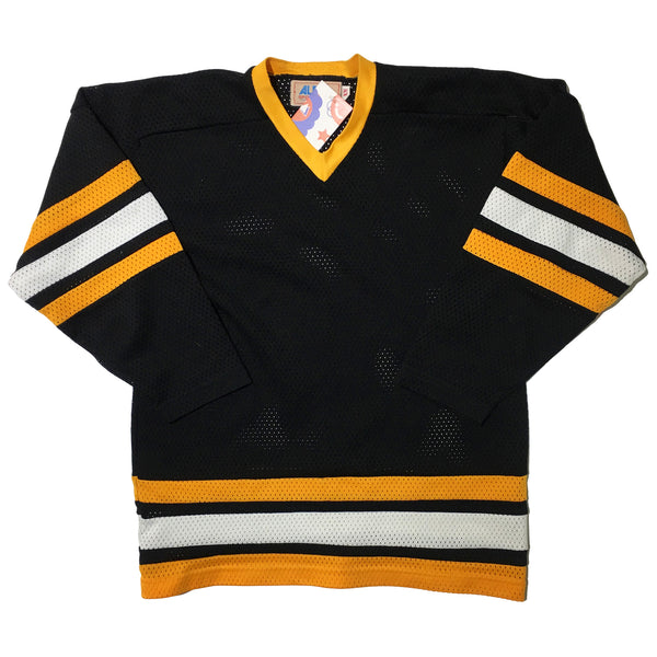 Alpha Sportswear Blank Black Yellow White Jersey