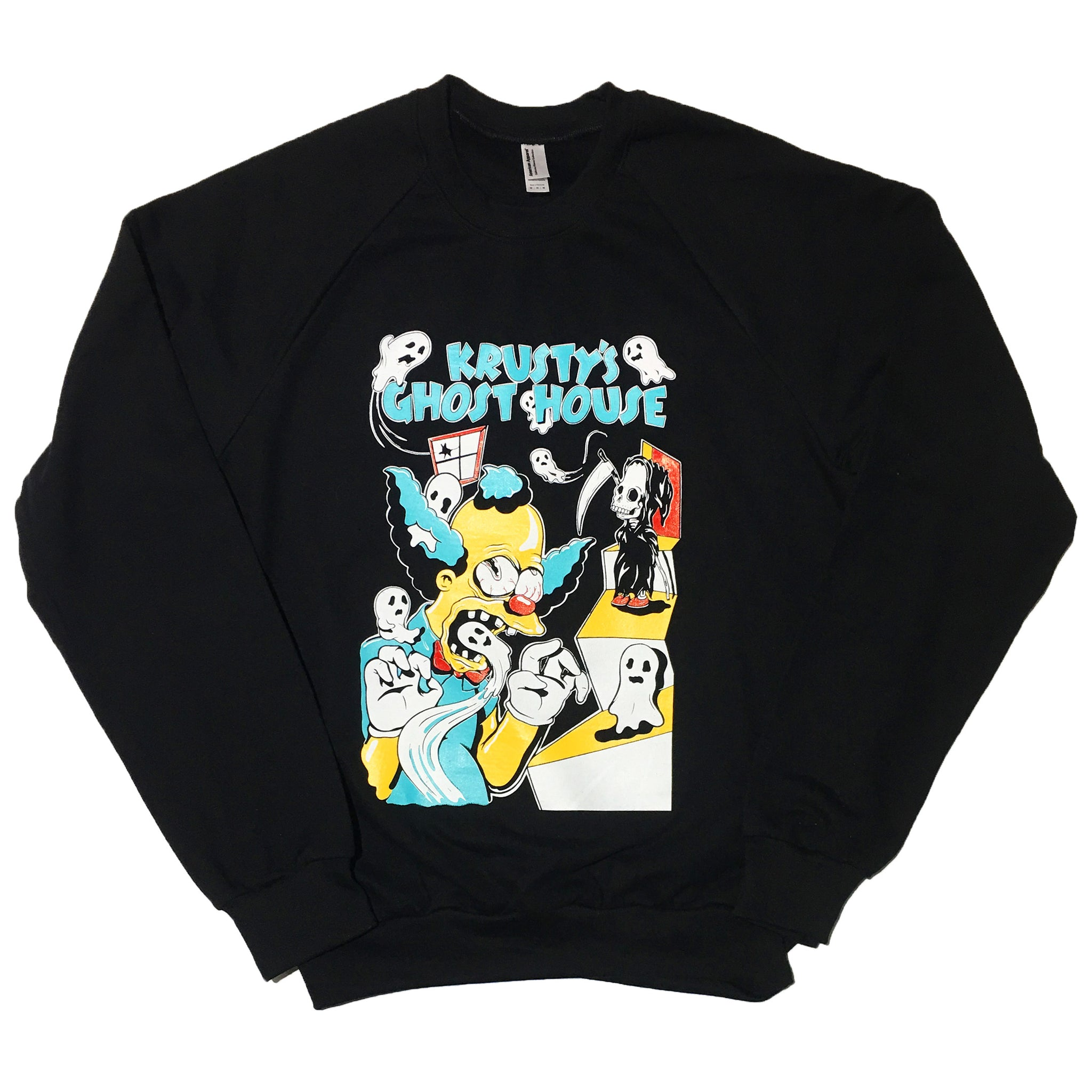 """Krusty Mash Up For Blim"" Sweater by PUPPYTEETH"