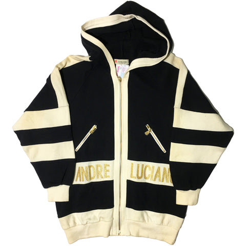 Andre Luciano Heavy Weight Gold Embellished Hoodie