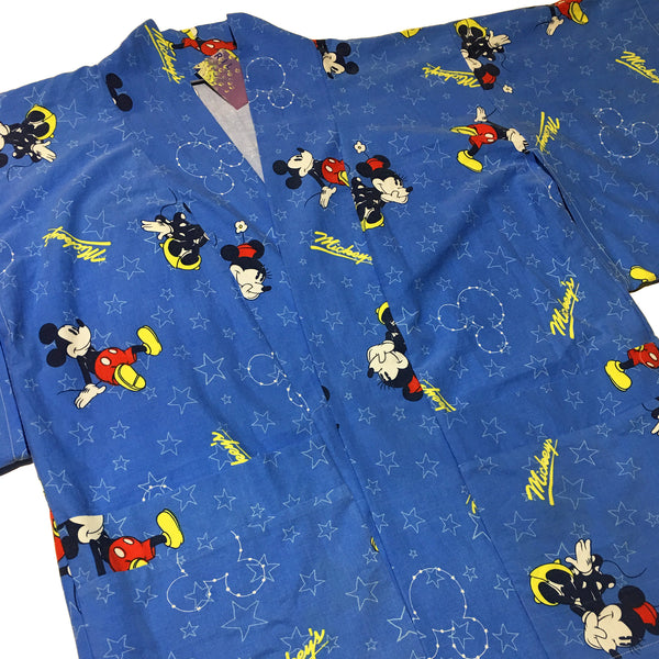 Blue Mickey Star Haori