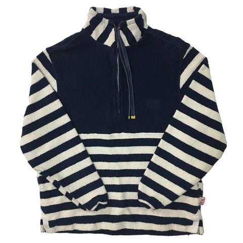 Deal Navy Striped Sweater