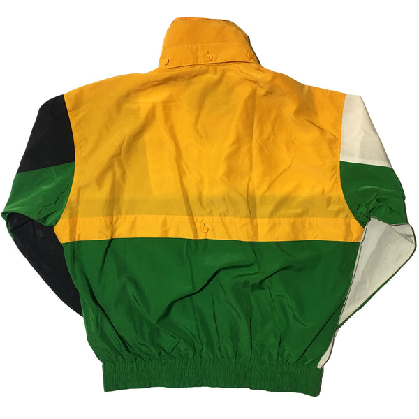 Kenzo Golf White Yellow Black Green Jacket