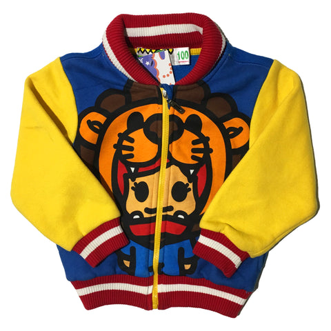 Kids Tiger Cotton Jacket