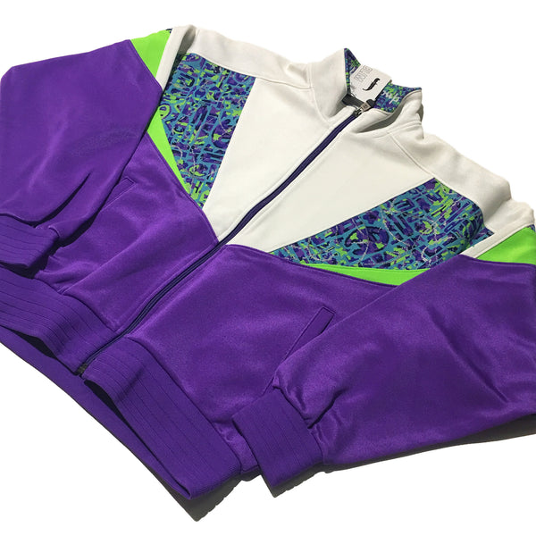 Champion Purple Neon White Jacket