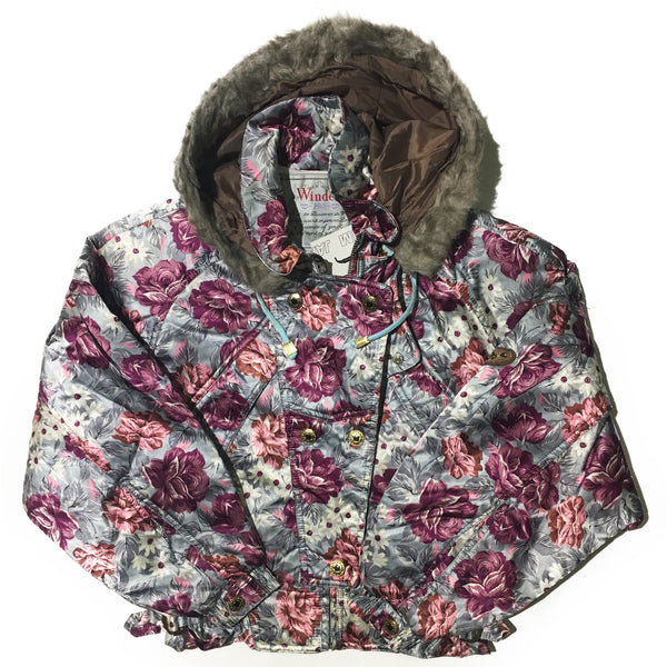 Windex Pro Floral and Silver Jacket