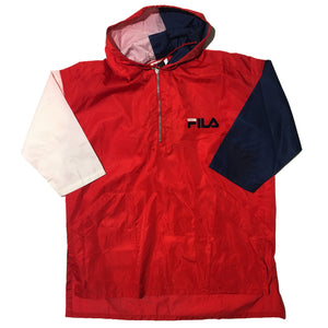 FILA Oversized Half Zip Jacket