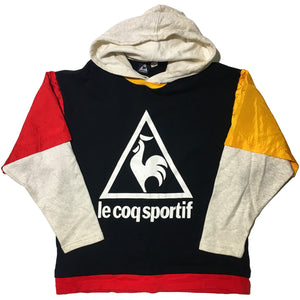 Le Coq Sportif Red Yellow Hoodie