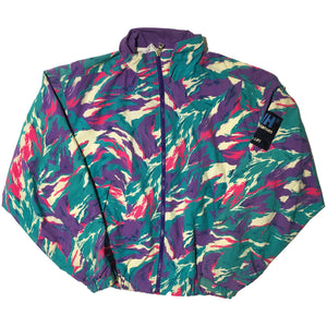 Helly Hansen Blue Purple Pink and White Jacket