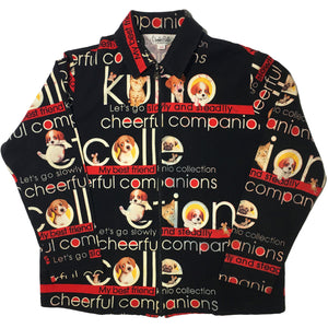 Kunio Sato Cheerful Companion Dog Jacket