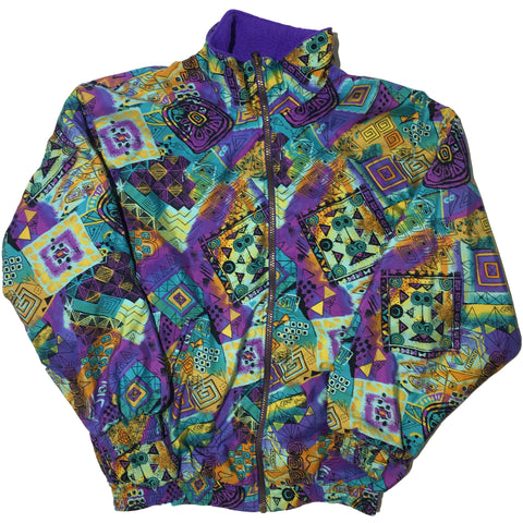 SNC Purple Reversible Fleece Jacket