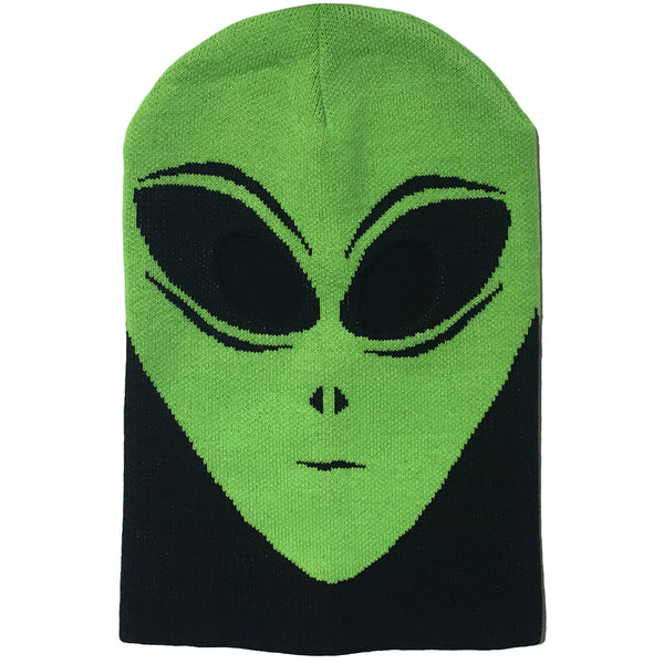 Alien Full Face Ski Mask