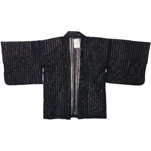 Black Sparkly Shear Haori