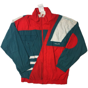 Adidas Elektro Luck Red, Green, and White Jacket