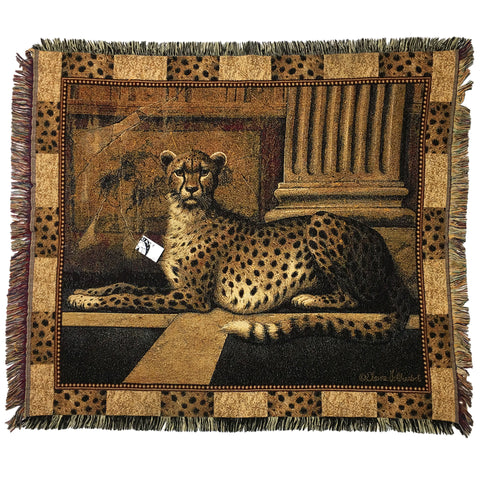 Large Cheetah Tapestry