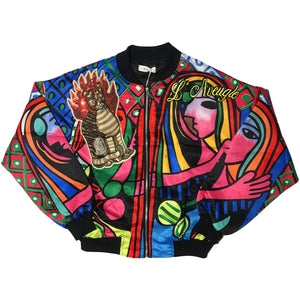 Rainbow Cat Picasso Jacket