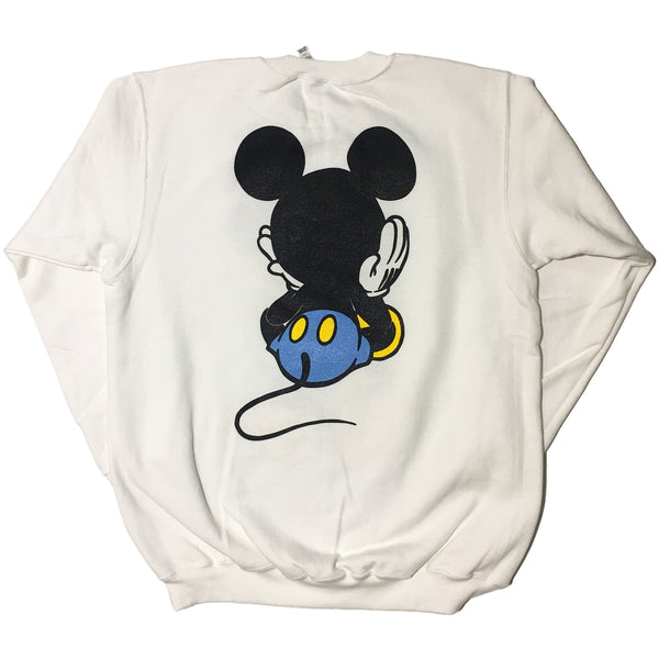 White 3 Eyed Blickey Sweater