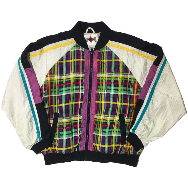 Active Frontier Plaid Print Jacket