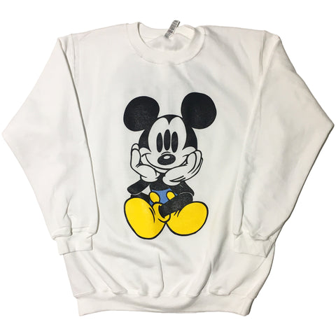 Trippy Mikky White Sweater