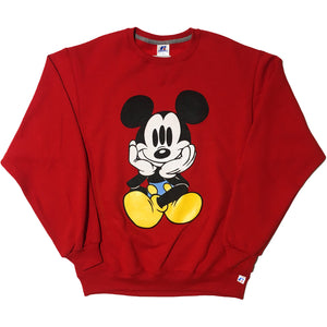 Red 3 Eyed Blickey Sweater