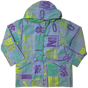 Chantepluie Blue, Purple, Green & Lime Jacket