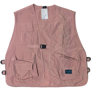Dark Icon Utility Pale Pink Vest
