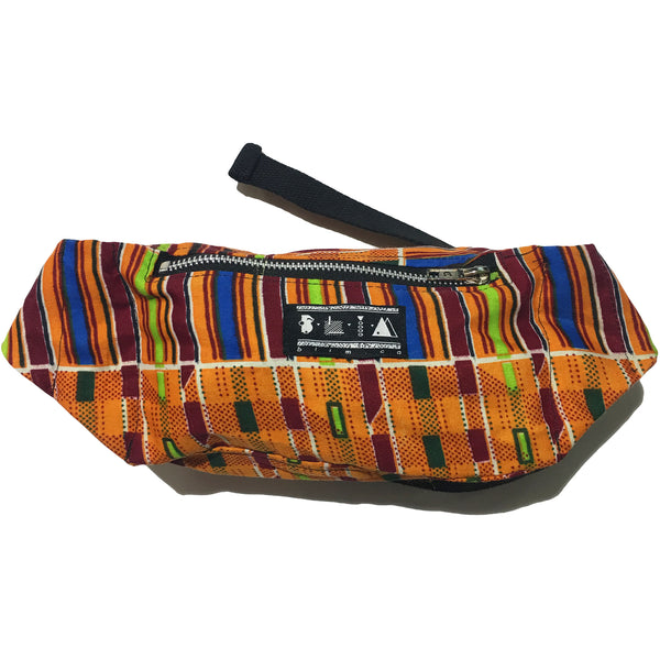 Blim Orange Pattern Fanny Pack
